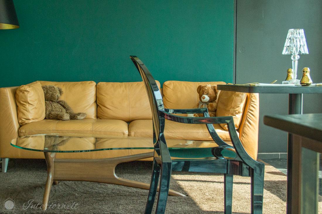 Sitzecke im Rococo Restaurant
