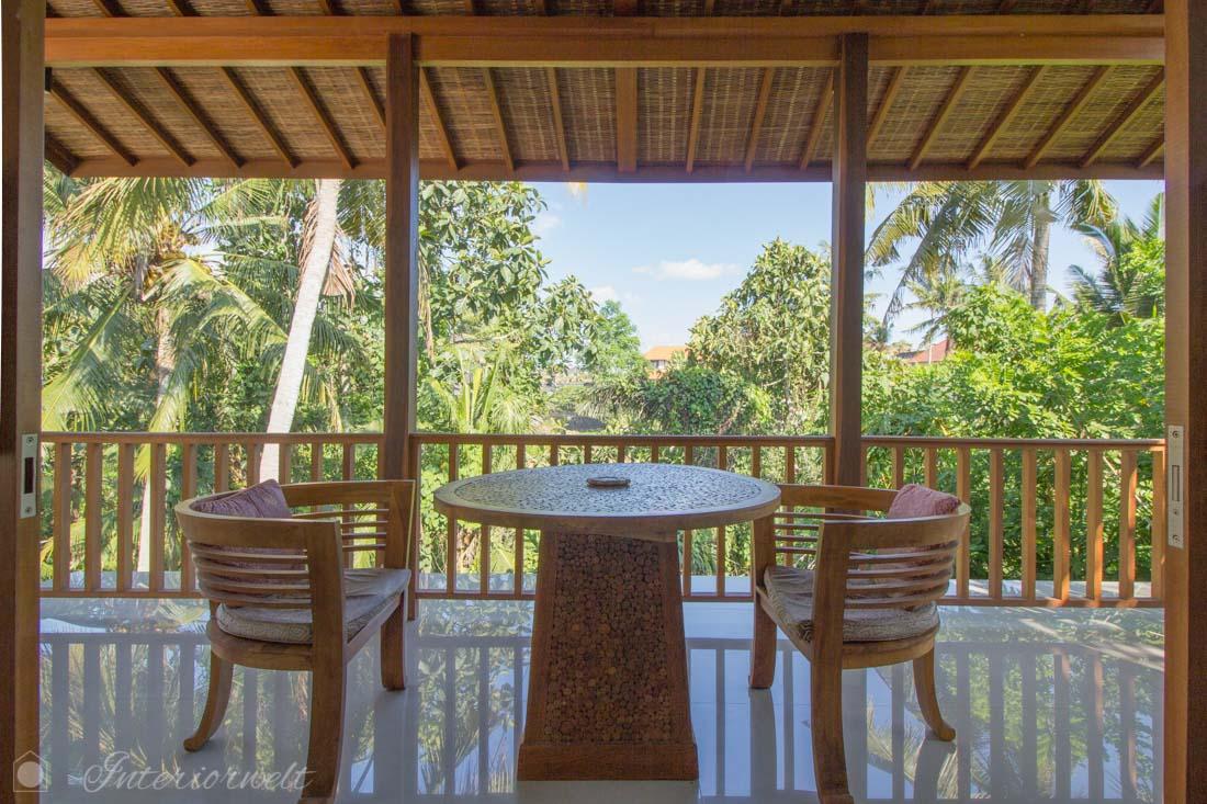 Dschungelblick auf Bali