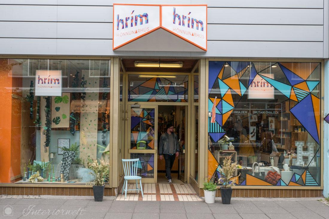 Designshop in Reykjavik
