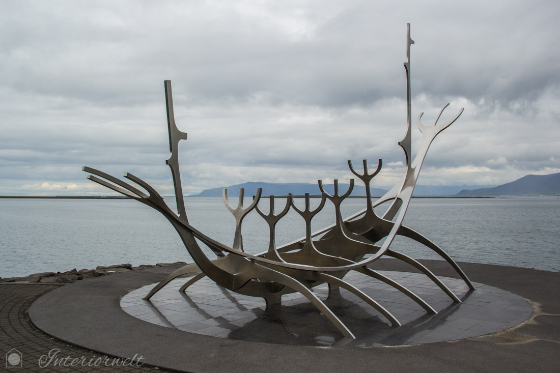 Solfar Kunstwerk Island