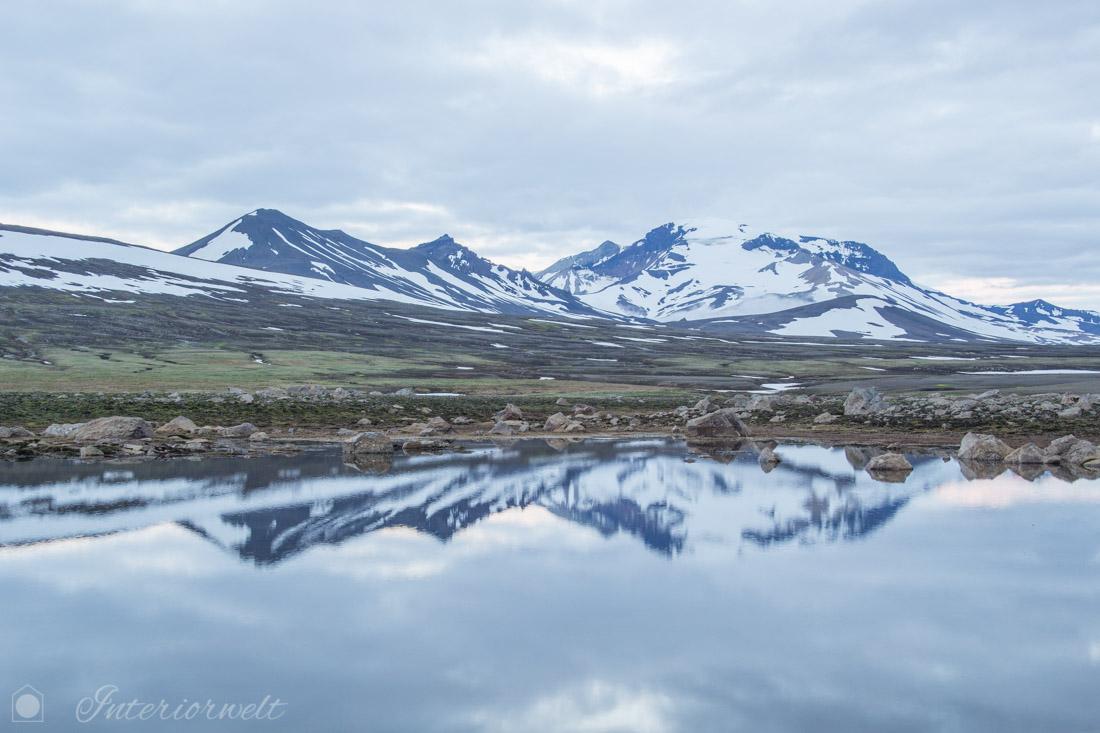 Skandinavische Berglandschaft
