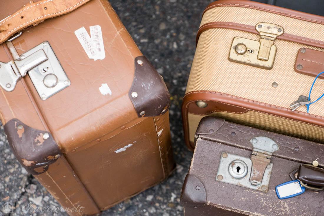 Koffer vom Flohmarkt
