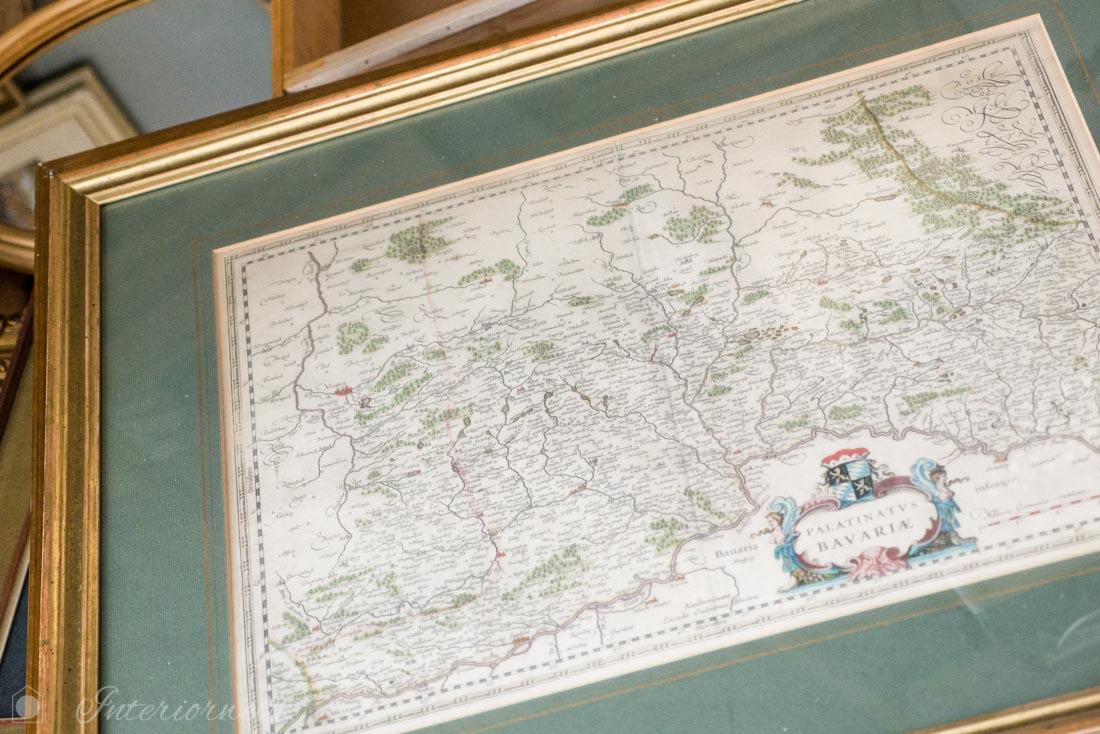 Landkarte Flohmarkt