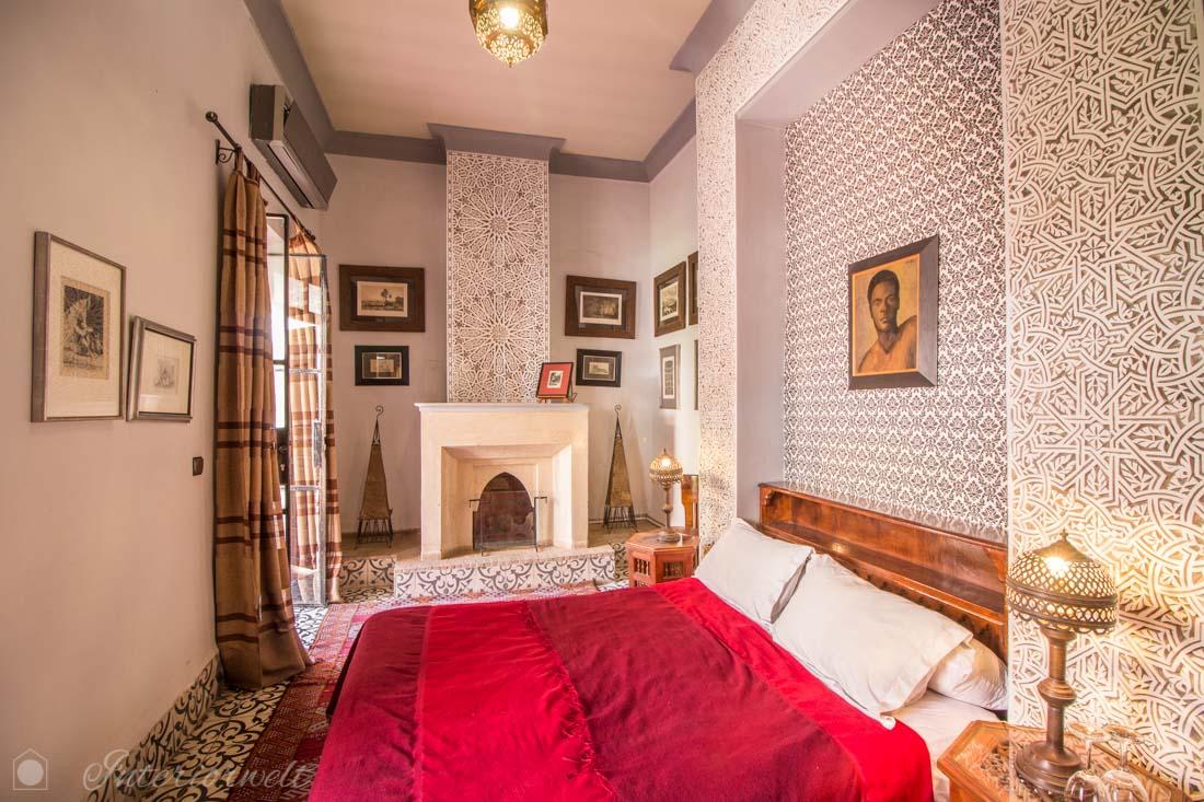 Doppelzimmer im Riad
