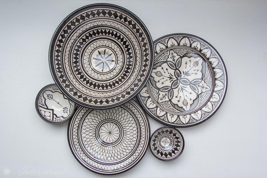 Marokkanische Teller