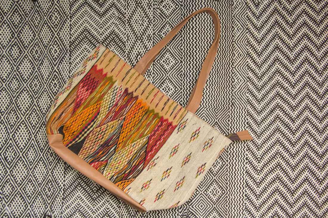 Teppich und Handtasche marokkanisch
