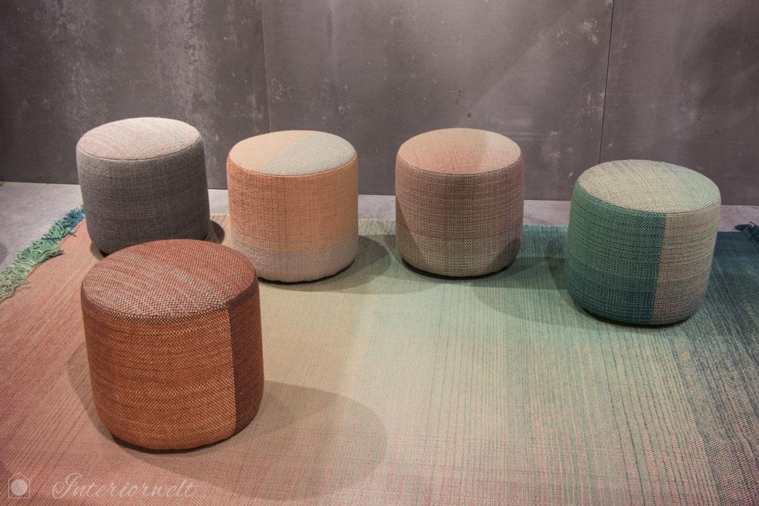 Poufs Möbelmesse Mailand