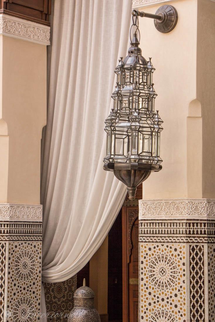Leuchte marokkanisch