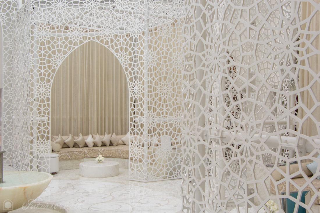 weisse Einrichtung Marokko
