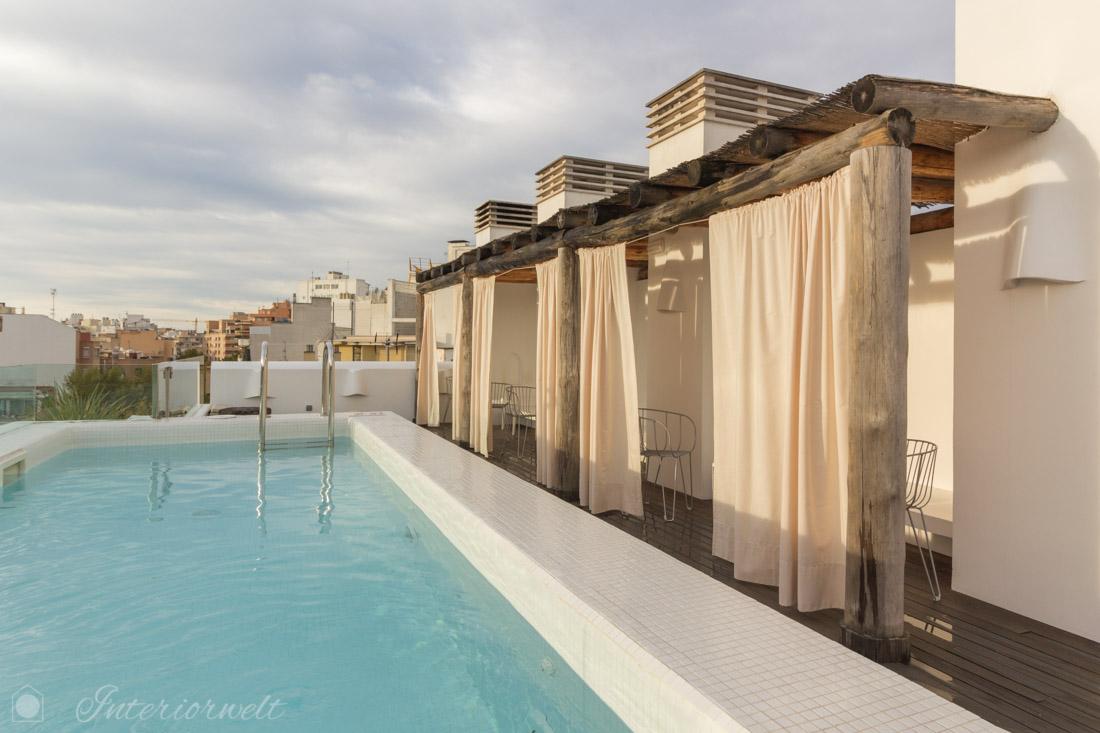Dachterrasse mit Pool Palma