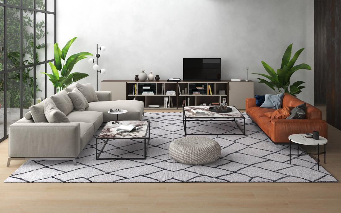 Designteppich marokkanisch