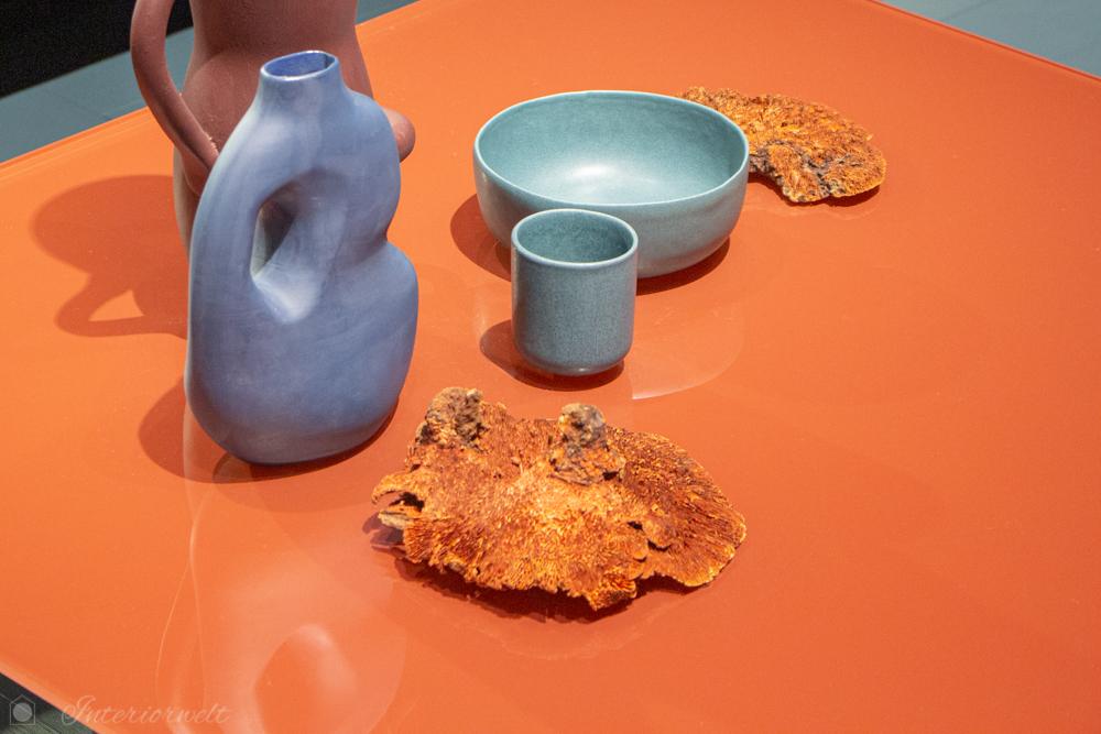 Tischdeko Blau Orange
