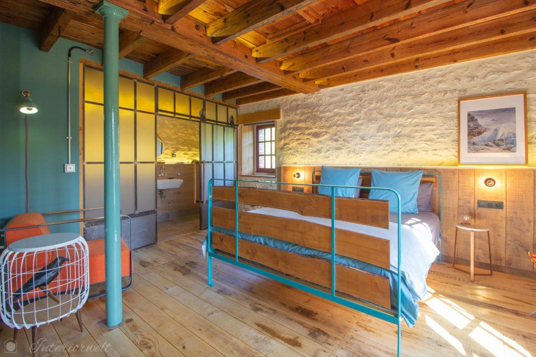 übernachten in Design Mühle Bretagne