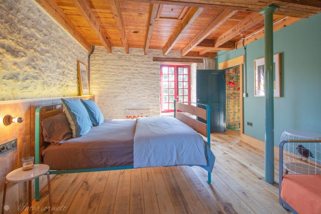 Interior design bed and breakfast bretagne